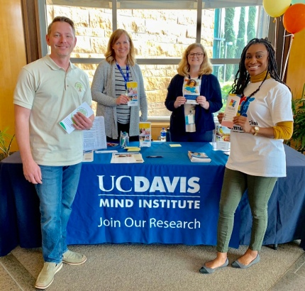 UC Davis autism resource fair